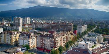 sofia view vitosha mountain nice spot citizens all seasons 639610612